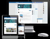 SocialBase - Redesign