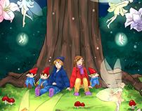 Ilustraciones para cuentos infantiles