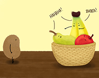 Ilustrações - Frutas