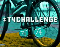 Piezas Plataformas Digitales #T4CHALLENGE / T4COLOMBIA