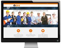 Sitio Web – Empresa BHI SRL