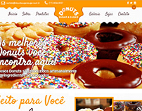 Site para Loja de Donuts