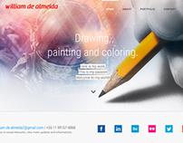 Criação do site do Wiliam de Almeida