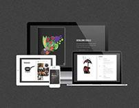 Sitio Libro / Book-Shaped Website