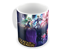 Caneca Star Guardians LoL