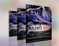 Diseño de Identidad Corporativa Malevo's Tango