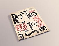 Revista: Rolling Stone, estilo Dadá (FADU)