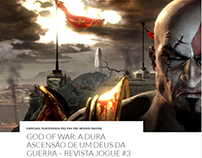 Revista Jogue - Matéria God Of War