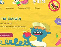 Site Telessaúde na Escola