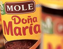 DOÑA MARÍA / Identidad de marca / Packaging