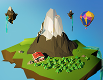 Low Poly Islands