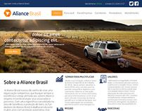 Aliance Brasil WebSite  (Re-design)