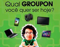 Peça OOH Groupon