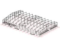 Diseño Galpones Bodega Fybeca