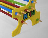 Display de balcão - KLIN