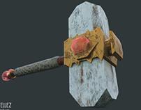 3d Hammer asset