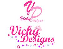 Logo Vicky Designs
