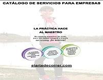 Diseño /maquetación catalogo de servicios