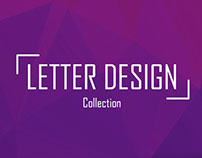 Letter Design | Collection 2017