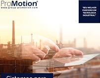 ProMotion @ Empresa de robótica