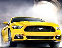 Mustang running away from O.V.N.I