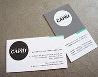 Cartões de visita - Marcenaria Capri