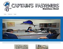 Pagina web captainsfasteners.com