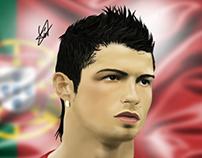 Cristiano Ronaldo digital painting