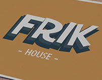 Logo y Tarjeta ''FRIK HOUSE''