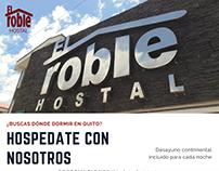 Hostal El Roble - Promoción hospédate con nosotros