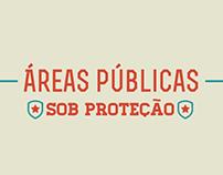 Infográfico estático - Áreas públicas sob proteção