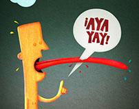¡Ayayay! - Ilustración.