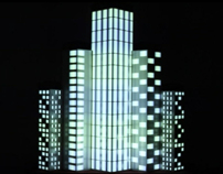 Urban - interactive video mapping project