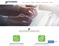 Diseño web Tecnoredsolutions.com