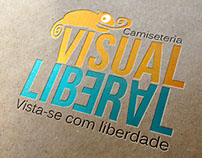 Camiseteria Visual Liberal - Identidade Visual