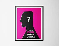 Com a Pulga atrás da Orelha | Poster