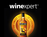 Wine Expert - Web Layout new Design