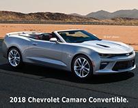 Ad idea - Chevrolet Camaro Convertible