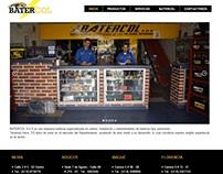 Diseño pagina web Batercol SAS Colombia