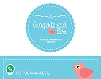 Cartão GingerbreadBox