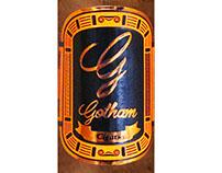 Gotham Heroes Premium Cigar Label