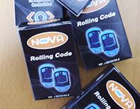 BOX PARA CONTROLES NOVA ROLLING CODE