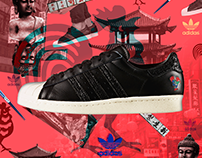 Adidas Originals - Superstar 80's CNY