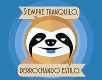 Perezoso Estilero | Ilustración