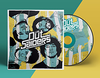 Lettering & CD Packaging | Los Outsaiders