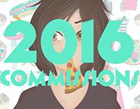 2016 Commissions