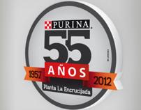 Aniversario No. 55 de la Planta Purina