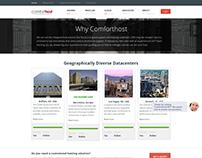 Landing Page Comforthost