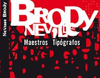 Maestros Tipógrafos  Neville Brody