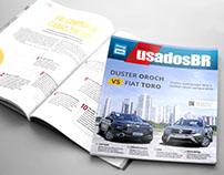 Diagramação da Revista UsadosBR - Edição 05